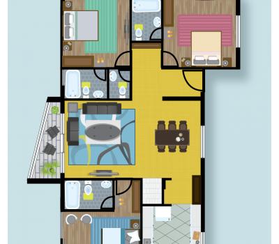 Floor Plan B at Celebrity Prime Oak