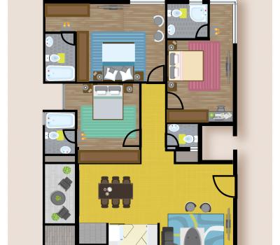 Floor Plan A at Celebrity Prime Oak