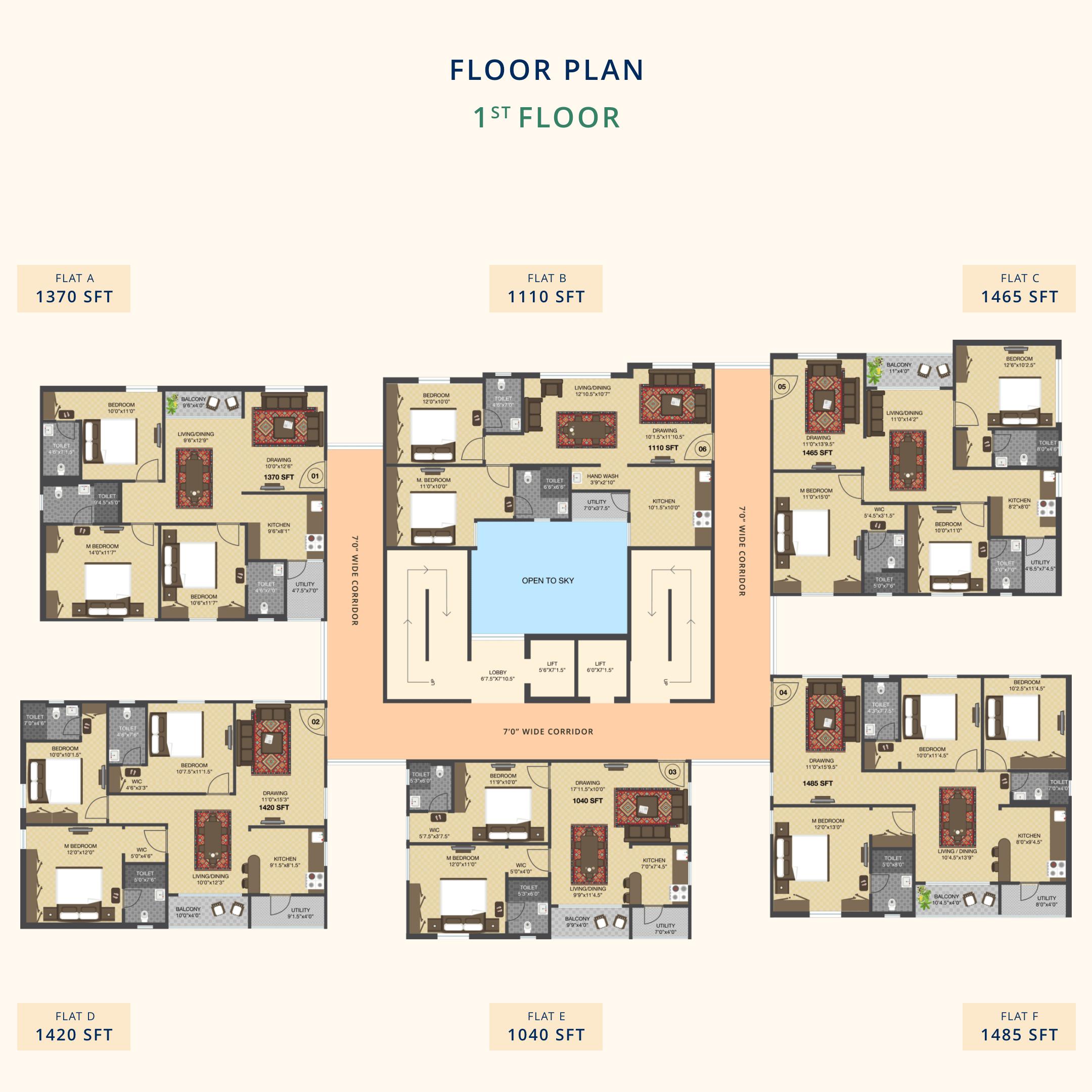 Signature-Residential-Apartments-1st Floor