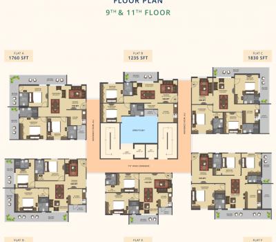 Signature-Residential-Apartments-9-11 Floor